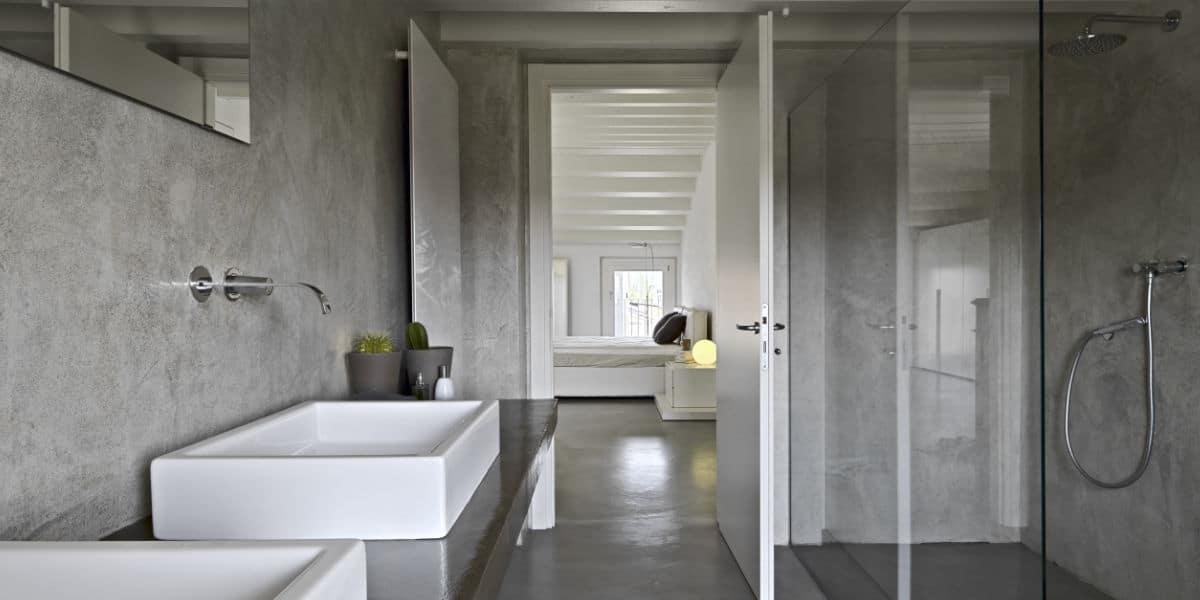 nouvelle salle de bain moderne