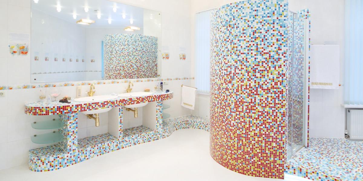 salle de bain blanc couleur