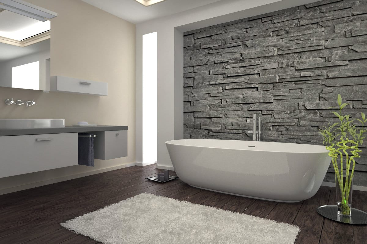 salle de bain pierre